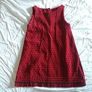 GAP kids cordary dress